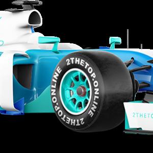 Formula 1 Racecar Prop