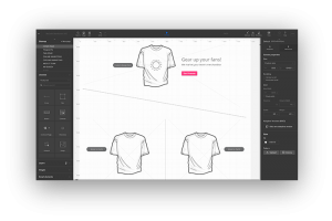 Soccer Galaxy UXPin Wireframe Example