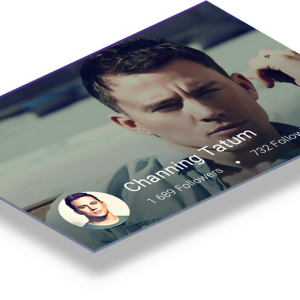 Mobile Android Screen - Header